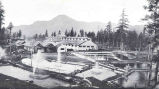 Bonneville Samon Hatchery of the Oregon Fish and Game Commission, Showing Rearing Ponds