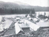 Fortmann Hatchery, Naha Stream, Alaska, the Largest Hatchery in the World