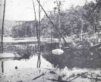 Head of Brooklyn Industrial Cove, Palisades Interstate Park, Showing Obstructions in the...