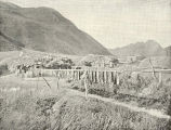 Sod-Houses (Barabara) of the Indian Village of Three Saints, Old Harbor, Kadiak : Also Showing...