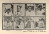 A few of the Many Types on the IsthmusNegro Girl, Martinique Woman, San Blas Chief, Indian Girl,...