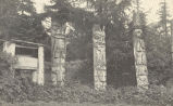 Indian Grave and Totems, Klinkwan