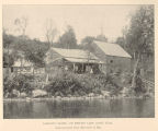 Lamont's Hotel, on Smith Lake (Lake Lila). These Buildings wer Torn Down in 1893