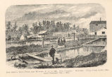 Seth Green's Trout Ponds, near Mumford, N. Y., in 1866. Now Caledonia Hatcheryfrom Frank Leslie's...