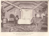 Interior of Lukah's Barrabakie : Native's House, St. Paul's Village--July 28, 1873
