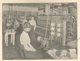 [Women Working at Net and Twine Making Machines]