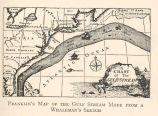 Franklin's Map of the Gulf Stream Made from a Whaleman's Sketch