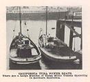 California Tuna Power Boats. There are a large number of these motor vessels operating in southern...