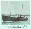 Comet, the 100-Foiot Halibut Schooner Owned and Operated by San Juan Fishing & Packing Co., to...