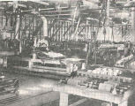 End of 1-Lb. Flat and 1/2-Lb. Flat Line at Javina Cannery : Interior Views of Siberian Salmon...