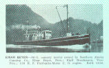Einar Beyer--90-ft cannery tender owned by Southern Alaska Canning Co., Einar Beyer, Pres: Eigil...