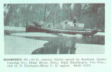 Shamrock III--65pft. cannery tender owned by Southern Alaska Canning Co.: Einar Beyer, Pres.:...