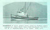 Shamrock II--6t-ft cannery tender, owned by Soutern Alaska Canning Co.: Einar Beyer, Pres; Eigil...