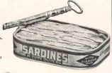 Booth Sea Foods : Sardines in Pure Olive Oil