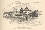Old Indian Chapel at Sitka (Greek Catholic Church, June 9, 1874)