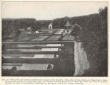 Both trout ans bass are cultivated at many of the stations. This view of the station at...