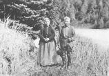 Chilkoot Indian chief and wife