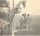 [Sailors on Oceanographic Research Vessel]