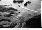 Quillayute River mouth at La Push