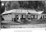 Goodyear Logging Company office exterior in Clallam Bay