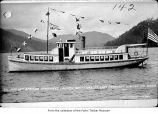 Ferry Betty Earles on Lake Crescent, Clallam County