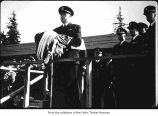 Quillayute Naval Auxiliary Air Station Commissioning Ceremony on February 29, 1944