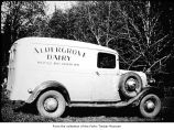 Aldergrove Dairy truck, probably on the Olympic Peninsula
