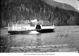 Ferry Storm King on Lake Crescent, Clallam County