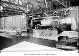 Goodyear Logging Company's cam kitchen in Clallam Bay