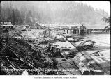 Goodyear Logging Company site at Clallam Bay