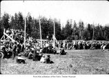 Athletic event, probably on the Olympic Peninsula
