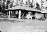 Rainbow Service Station in Forks