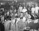 Thanksgiving dinner at Camp Gerome, 1940.