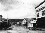 Holly St., Skagway, Alaska, ca. 1899.