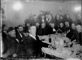 Shriner's banquet at the Regina Café, Dawson, Yukon Territory, December 3, 1898