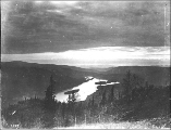 Dawson and the Yukon River at midnight from the Dome, Yukon Territory, July 21, 1899