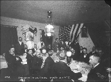 Banquet at the U.S. Consul for the July 4th celebration, Dawson, Yukon Territory, 1899.