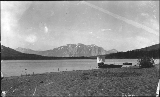 Beach at Carcross, Yukon Territory, 1898.
