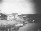 First Avenue, Fortymile, Yukon Territory, ca. 1898.
