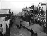 Front St. in winter, Nome, Alaska, ca. 1901.