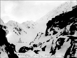Chilkoot Railway and Transportation Co.'s aerial tram, Chilkoot Pass, Alaska, April 24, 1898.