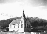 Baptist Church, Skagway, Alaska, August 1899.