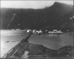Camp 55 during the construction of the Copper River and Northwestern Railway, Alaska, July 2, 1909.