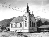 Baptist Church, Skagway, Alaska, ca. 1899.