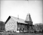North-West Mounted Police post at Carcross, Yukon Territory, ca. 1898