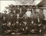 Crew of the British sailing vessel GARSDALE, Washington, ca. 1904.