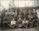 Crew of the British sailing vessel SIERRA CORDOVA, Washington, ca. 1904.