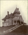 David T. Denny's residence at 512 Queen Anne Ave. near Mercer St., Seattle, Washington, ca. 1900.