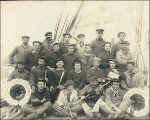 Crew of the sailing vessel ERNEST REYER, Washington, ca. 1904.