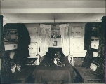 Cabin aboard the four-masted British bark LYNTON, Puget Sound, Washington, ca. 1904.
